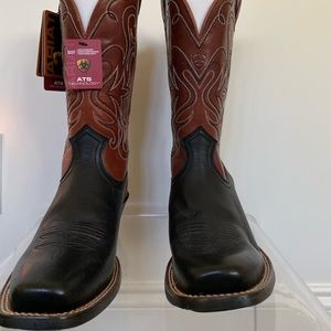 Ariat Detailed Cowboy Boots